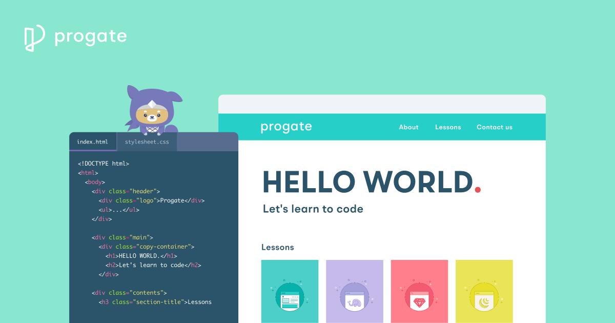 Progate | プログラミングの入門なら基礎から学べるProgate[プロゲート]