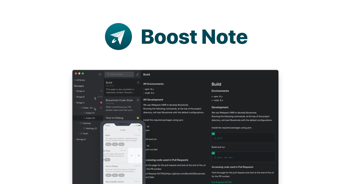 Boost Note   Boost Happiness, Productivity, and Creativity.