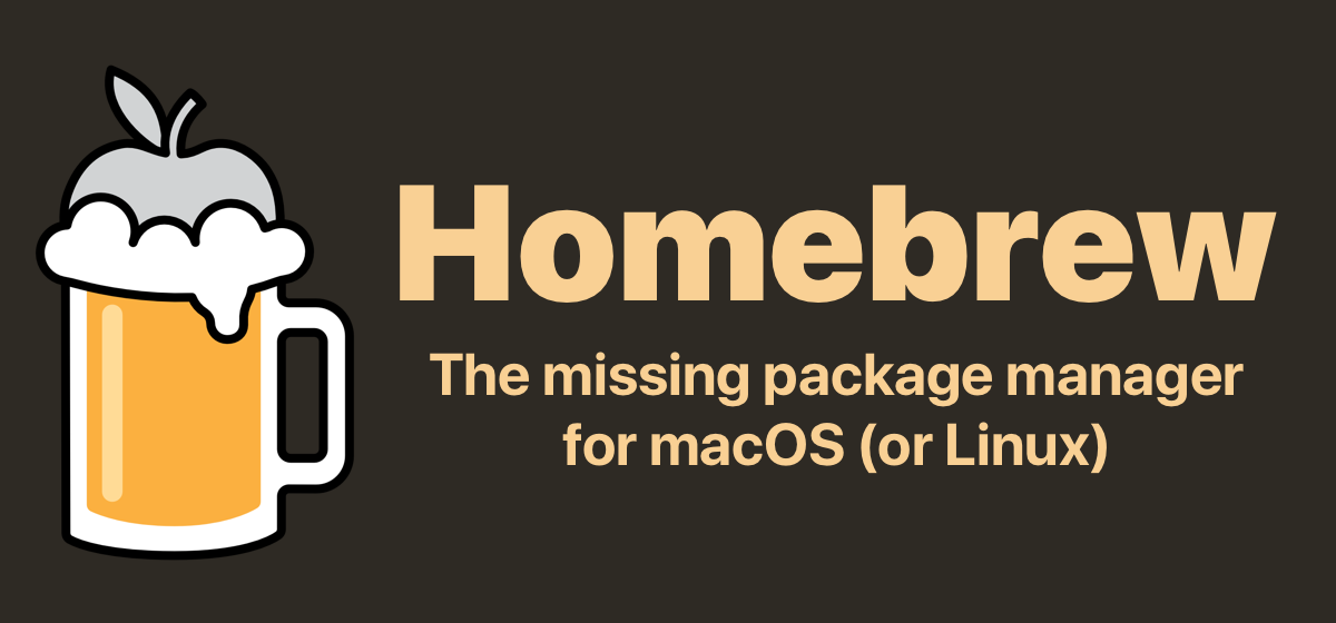 The missing package manager for macOS (or Linux) — The missing package manager f